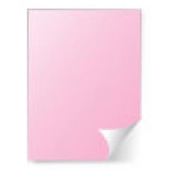 Pink Paper Removable