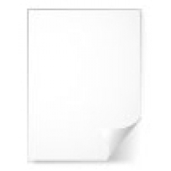 White Card 180gm2 High Resolution Dry Peel Adhesive